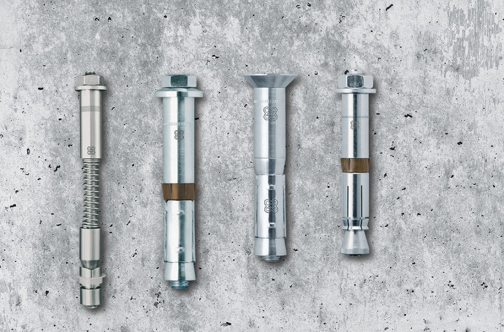 The unique engineering principles of the LIEBIG anchoring range